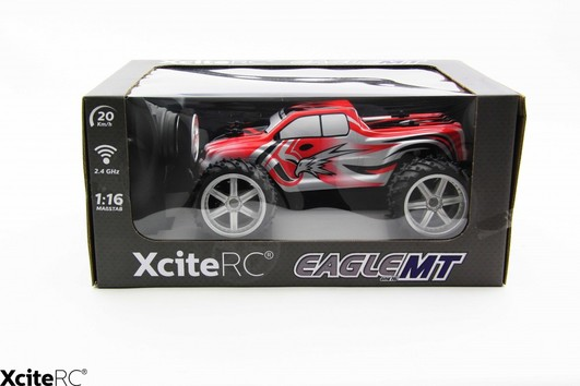 Eagle Monster Truck 2WD 1:26 RTR Rot