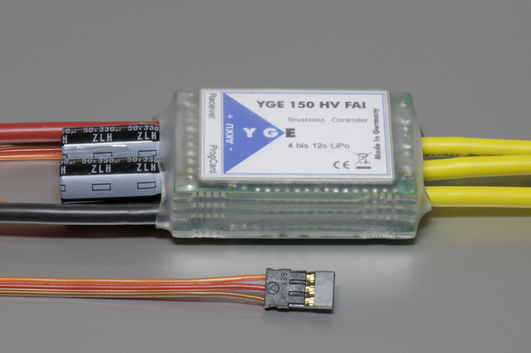 Electric speed controller YGE 150 HV FAI