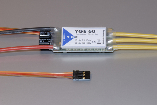 Electric speed controller YGE 60