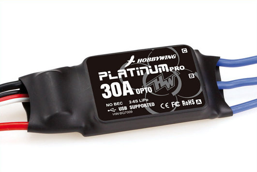 Electronic Speed Controller Platinum Pro 30A Opto