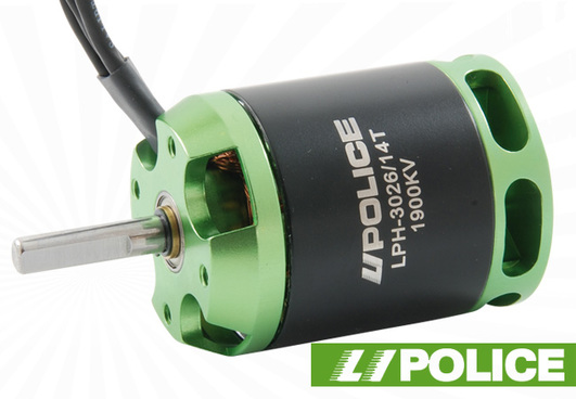 Elektromotor LiPolice LPH-3026/14T-1900KV Heli Version mit 5 mm Welle!