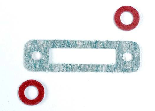 Exhaust header gasket (1)/ gaskets, pressure fitting (2) (for side exhaust engines only)