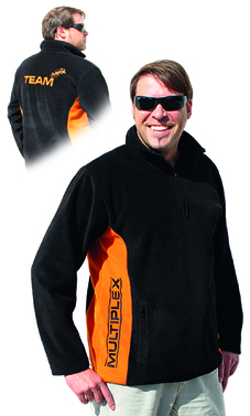 Fleece Troyer(Fleece-Pullover) MPX-Team XXL
