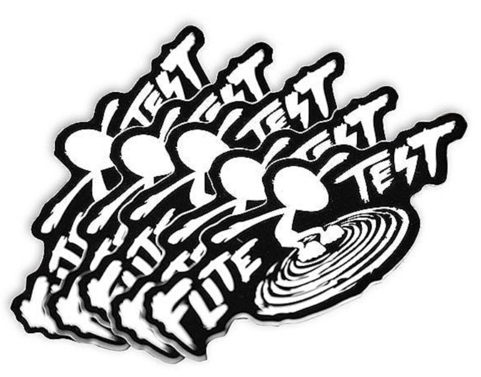 Flite Test Sticker Set Gremlin Logo VE5