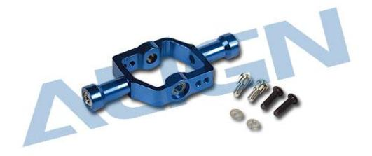 Flybar Seesaw Holder Metal Blue T-Rex 550E/600