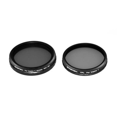 Freewell DJI Inspire1 / Osmo Filter 2 Pack (Variable ND2-400, CPL)