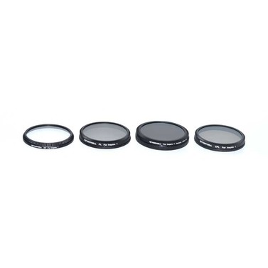 Freewell DJI Inspire1 / Osmo Filter 4 Pack (Variable ND2-400, CPL, PL, UV)