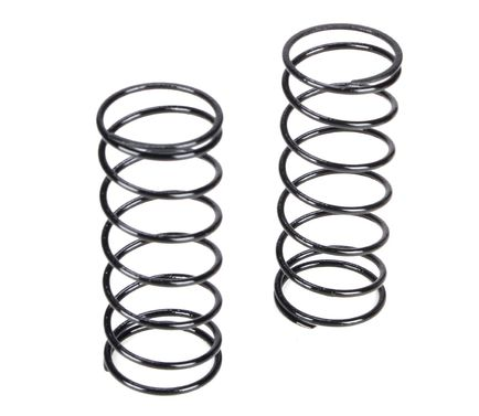 Front Shock Spring, 4.1 Rate, Black: 22T