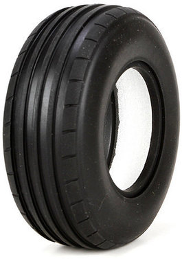 Front Tire, Ribbed with Foam, Soft, 40mm(2)