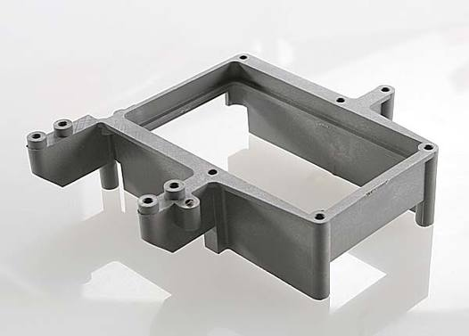 Fuel tank box (holder)/ throttle servo mount (grey)