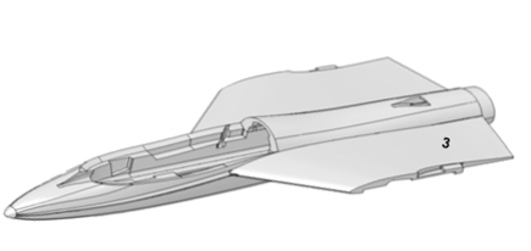 Fuselage with cover Funjet MPX
