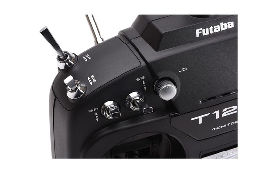 Futaba T12K 2.4 GHz + R3008SB Mode 1