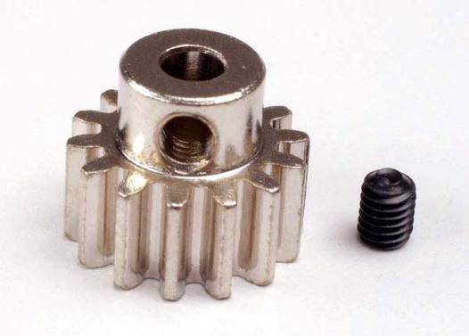 Gear, 14-T pinion (32-p) (mach. steel)/ set screw
