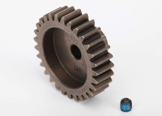 Gear, 29-T pinion (1.0 metric pitch, 20° pressure angle) (fits 5mm shaft)/ set screw