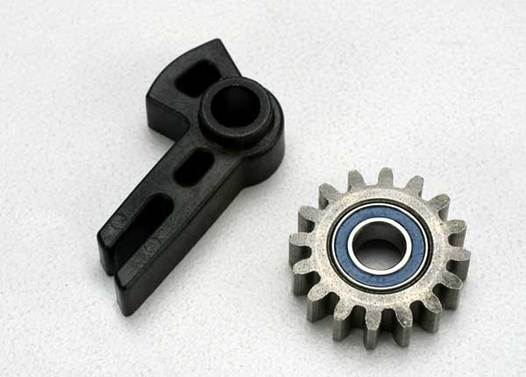 Gear, idler/ idler gear support/ bearing (pressed in)