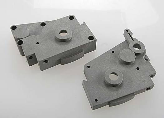Gearbox halves (grey) (left & right)