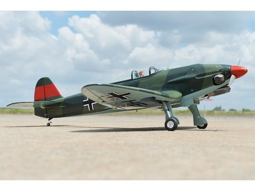 Heinkel HE 112B 1550 mm Black Horse