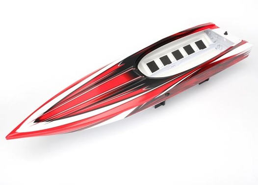 Hull, Spartan, red graphics (fully assembled) *Lifetime Replacement Plan available