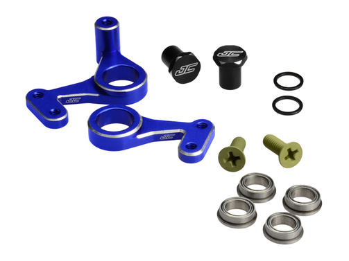 JConcepts - RC10 Aluminium Lenkungs Set   - blau