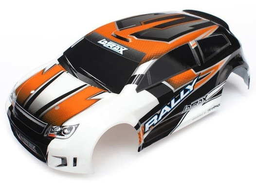 Karo, LaTrax 1/18 Rally, orange lackiert + Decals