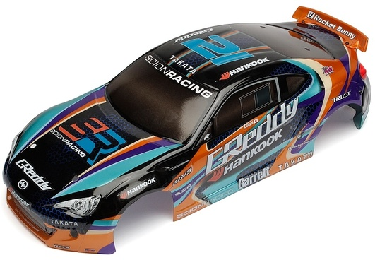 Karosserie Tourenwagen 1:10 Scion Racing FR-S, Lexan