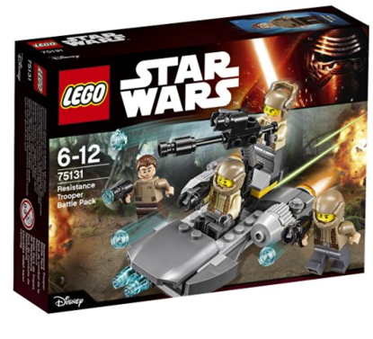 LEGO 75131 Confidential Battle pack Episode 7 Heroe