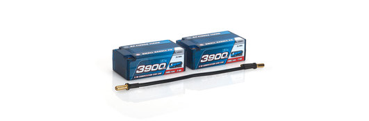 LRP 3900 - Small Saddle P5 - 110C/55C - 7.4V LiPo - 1/10 Competition Car Line Hardcase
