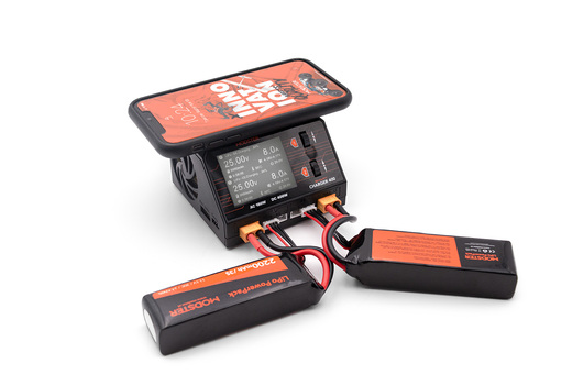 Ladegerät ACDC MODSTER Smart Duo Charger 600W 16A 2x6S Lipo