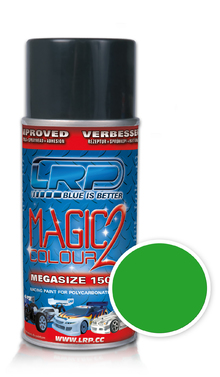 Lexanspray Magic Colour 2 Metallicgruen