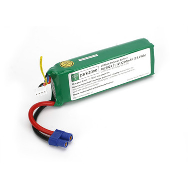 LiPo Pack 2200 mAh 3S 25C Battery Parkzone
