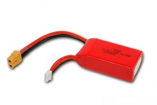 LiPo Pack Battery 3S 1300mAh for TB250 racer ( Race Copter )