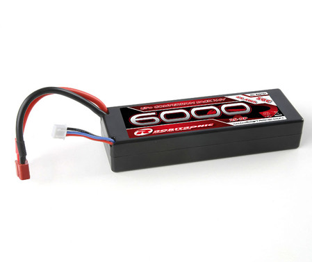 LiPo Pack Competition 6000 2S-2P 50C 7,4 V Hartcase