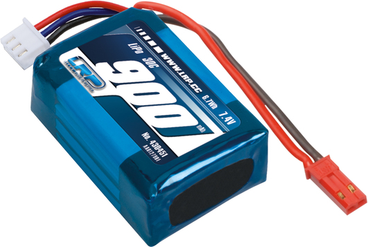 LiPo Pack LRP Deep Blue One/340 Tuning LiPo -   900mAh - 2S2P - 7.4V - 30C