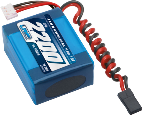 LiPo Pack LRP VTEC LiPo 2200 RX-Pack small Hump -   RX-only - 7.4V