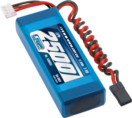 LiPo Pack LRP VTEC LiPo 2500 RX-Pack 2/3A   Straight - RX-only - 7.4V