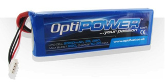 LiPo Pack Optipower 1300 mAh 3S