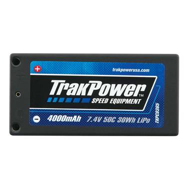 LiPo Pack Track Power 2S 7.4V 4000mAh 50C HC 4mm Shorty