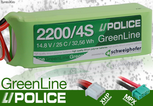 LiPolice Greenline 30C New Light Edition 2200/4S 14,8V