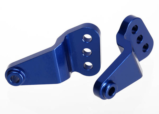 Link mount, rear suspension, aluminum (blue-anodized) (right & left)