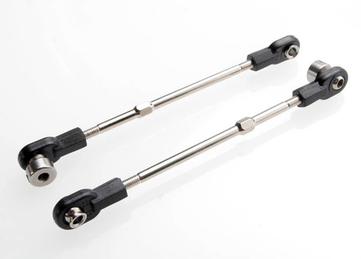 Linkage, front sway bar (Revo/Slayer) (3x70mm turnbuckle) (2) (assembled with rod ends, hollow balls and ball stud)