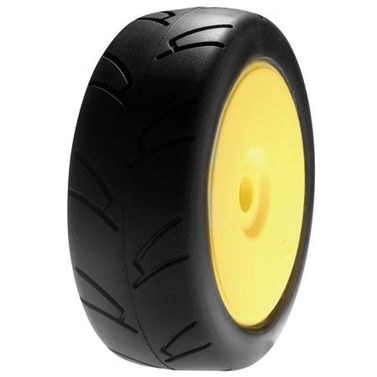 Losi 1/8 8IGHTH Street On-road TireMntd,Yellow Wheel