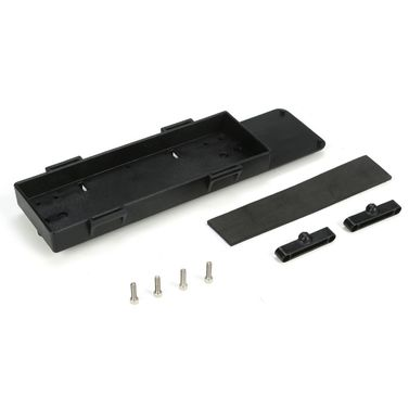 Losi Batt Tray w/Stop Tab, Foam Pad & Screws: TEN-SCTE