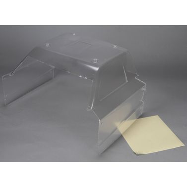 Losi Cab Body Section, Clear: 5IVE-T