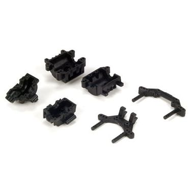 Losi Diff Covers & Shock Towers: Micro SCT, Rally