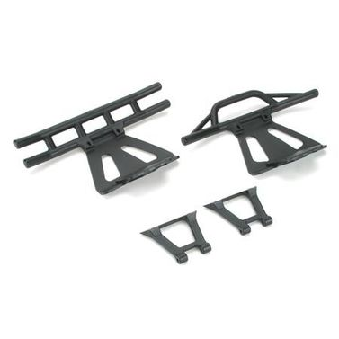 Losi Front/Rear Bumpers & Braces: LST,LST2,AFT MUG,MGB