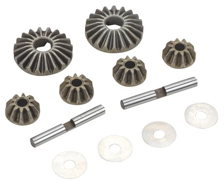 Losi Front/Rear Diff Bevel Gear Set: LST/2,AFT,MUG,MGB