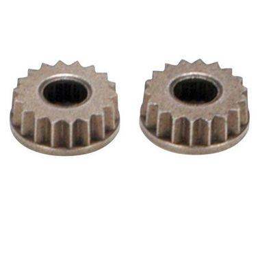 Losi Metal Servo Arm Insert, 23 Spline, JR (2)