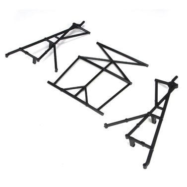 Losi Rear Top & Side Cage Set: 5TT