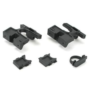 Losi Right/Left Bulkheads/Diff Retainer:LST,AFT,MUG,MGB