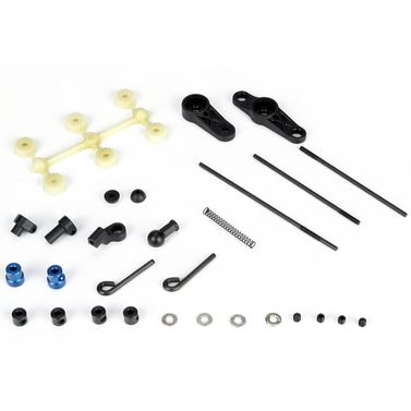 Losi Throttle/Brake Link Set: 8B 2.0